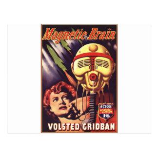 Magnetic Brain Postcard