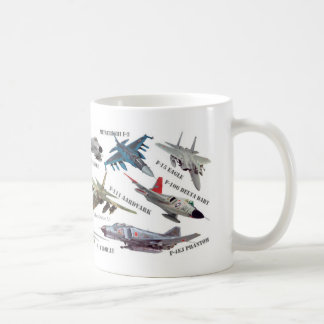 "Magnetic cup of Aviation Art mug ""Jet fighter """