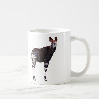 Magnetic cup of okapi