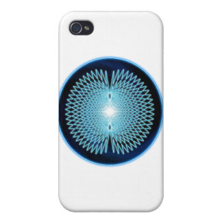 Magnetic Field Crop Circle iPhone 4 Case