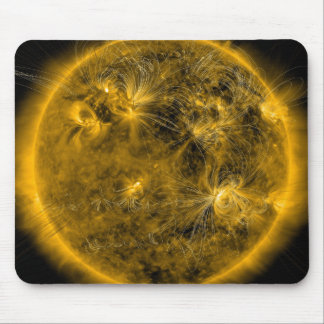 Magnetic field lines on the Sun Mouse Pad