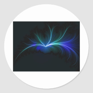 magnetic field .. or something.. lol round sticker