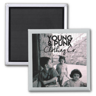 Magnetic Magic YOUNG&PUNK Logo Magnet