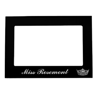 Magnetic Picture Frame-Pageant Crown Picture Frame Magnet
