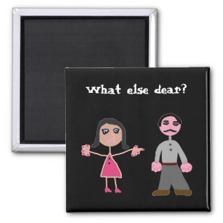 Magnets humor marriage
