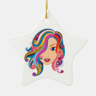 Magnificent Hope Star Ceramic Ornament