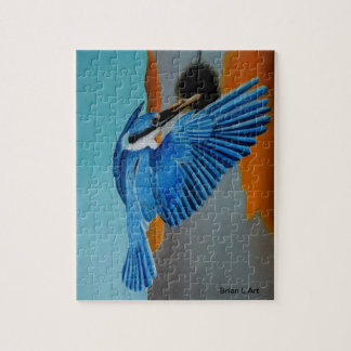 Magnificent Kingfisher Jigsaw Puzzle