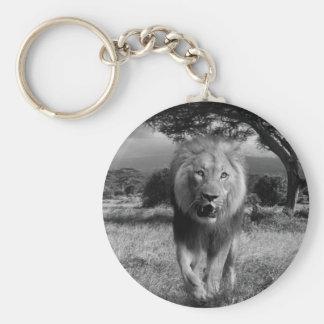 Magnificent Lion Keychain