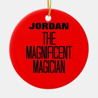 Magnificent Magician Ceramic Ornament