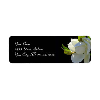 Magnificent Magnolia Return Address Label