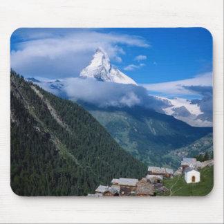 Magnificent Matterhorn in  Switzerland, mousepad