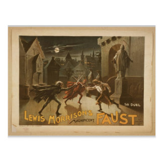 Magnificent New Faust Postcard