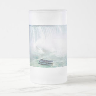 Magnificent Niagara,Frosted 16oz Frosted Glass Mug