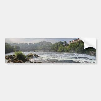 Magnificent Rhinefalls, Switzerland Bumper Sticker