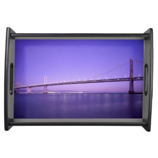 Magnificent San Francisco–Oakland Bay Bridge Serving Tray