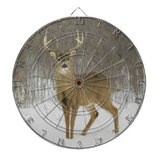 Magnificent Snow Deer,  Dartboard