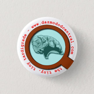 Magnified Tardigrade 1 Inch Round Button