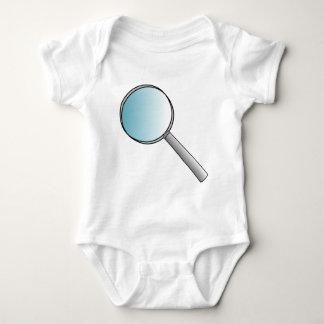 Magnifying Glass Baby Bodysuit