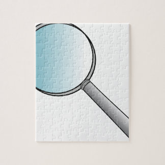 Magnifying Glass Jigsaw Puzzle