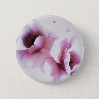 Magnolia 2 Inch Round Button