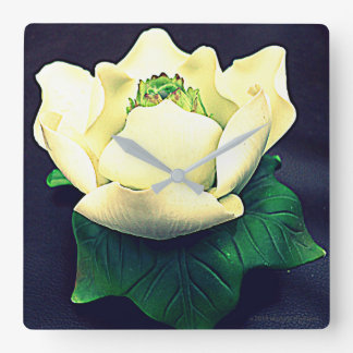 MAGNOLIA 2 SQUARE WALL CLOCK