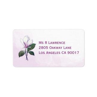 Magnolia Address Labels