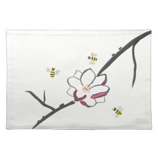 Magnolia and Honey Bees Placemat