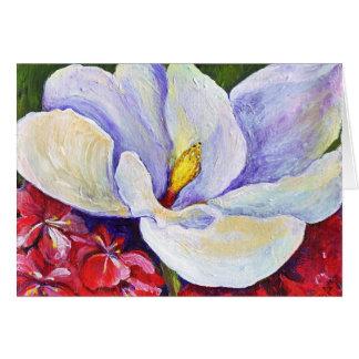 Magnolia & Azaleas Card
