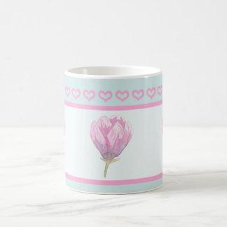 Magnolia Bloom in Watercolour Coffee Mug