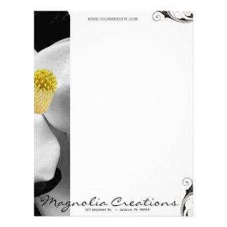 Magnolia Blossom Letterhead