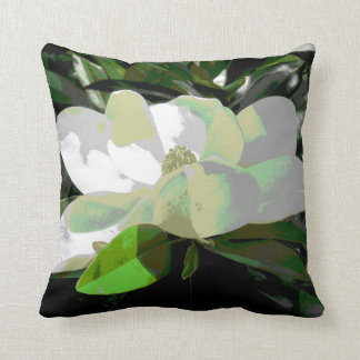 Magnolia Blossom Pillow - Floral Design Series