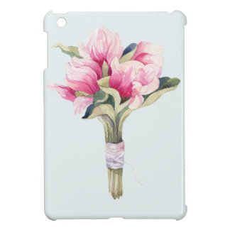Magnolia Blue Bouquet Cover For The iPad Mini