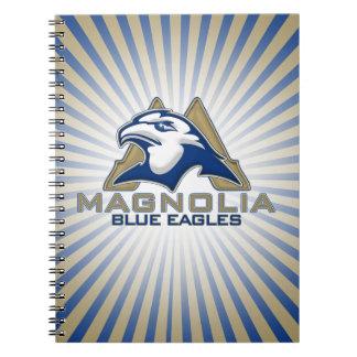 Magnolia Blue Eagles Notebook