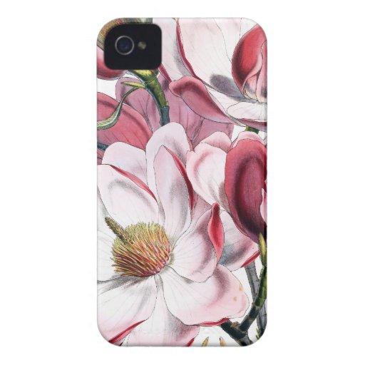 Magnolia Botanical Case-Mate iPhone 4 Cases
