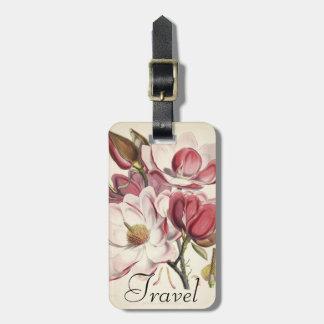 Magnolia - Botanicals Collection Luggage Tag