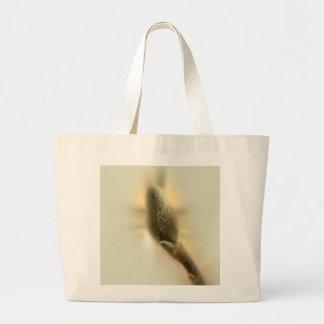 magnolia bud large tote bag
