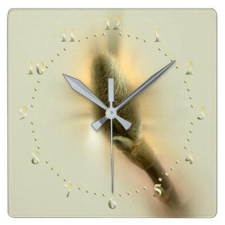 magnolia bud wall clocks