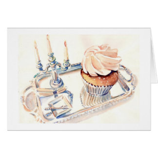 Magnolia Cupcake Card