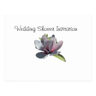 Magnolia Favors Ideas, Wedding Shower Theme Postcard