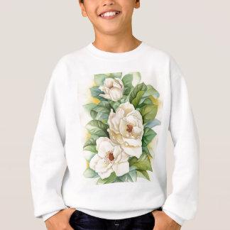 Magnolia Flower Watercolor Art - Multi Sweatshirt