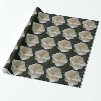 Magnolia Flower Wrapping Paper