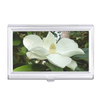 Magnolia Grandiflora Business Card Holder