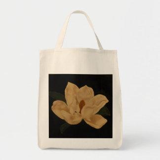 Magnolia grocery tote bag