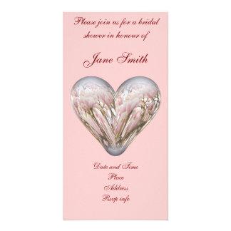 Magnolia heart picture card