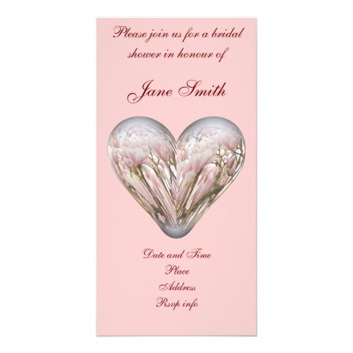Magnolia heart picture card