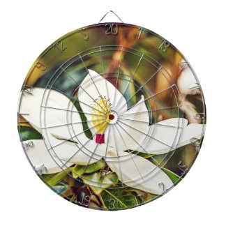Magnolia in Bloom Dartboard