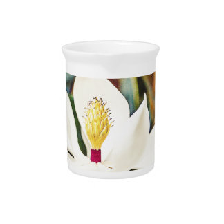 Magnolia in Bloom Pitcher