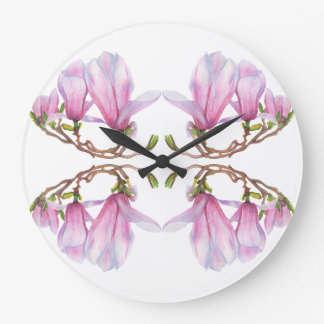 Magnolia Large Clock