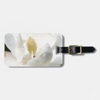 Magnolia Luggage Tag