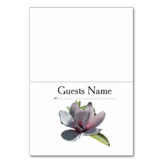 Magnolia Modern Simple Elegant WeddingIdeas Card